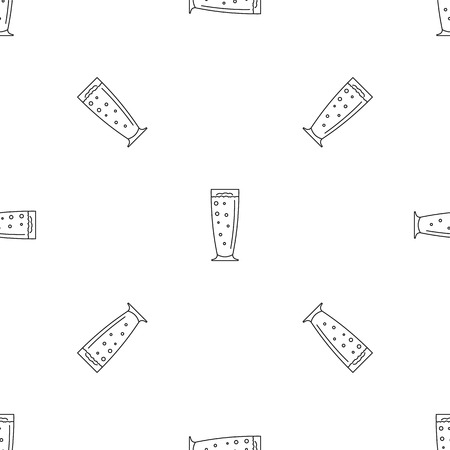 Cherry smoothie pattern seamless vector repeat geometric for any web design