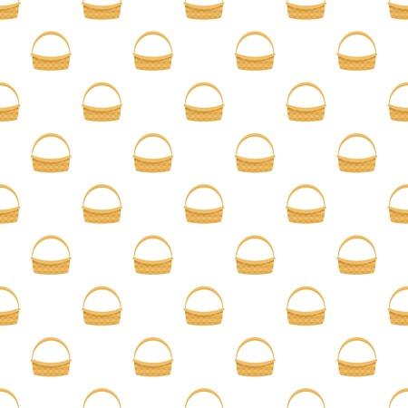Farm basket icon. Flat illustration of farm basket vector icon for web design