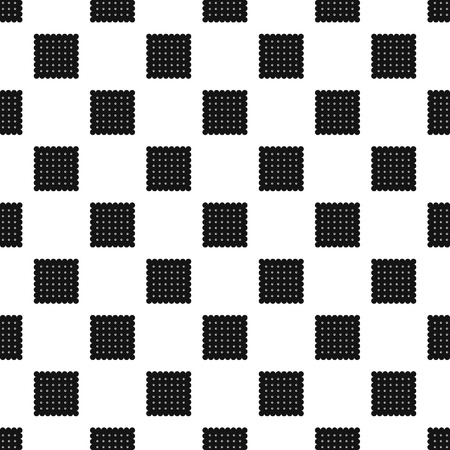 Traditional biscuit pattern seamless vector repeat geometric for any web design