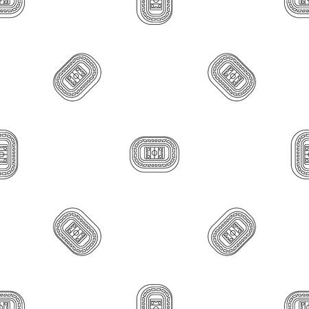 Ice hockey arena pattern seamless vector repeat geometric for any web design