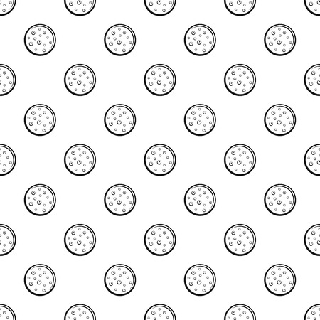 Sweet biscuit pattern seamless vector repeat geometric for any web design