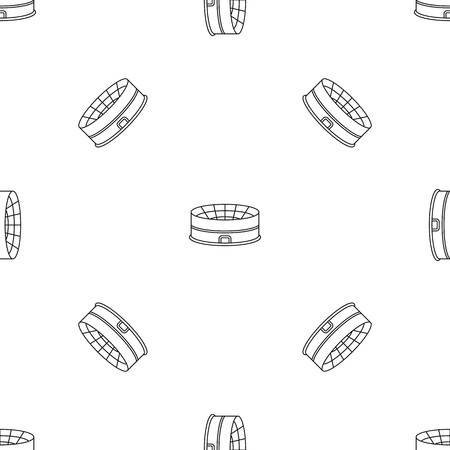 Soccer stadium pattern seamless vector repeat geometric for any web design