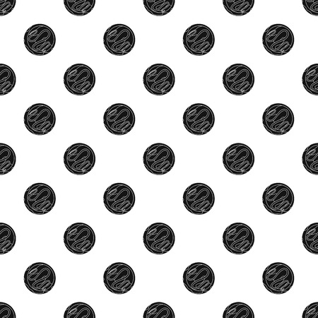 Choco biscuit pattern seamless vector repeat geometric for any web design Illustration