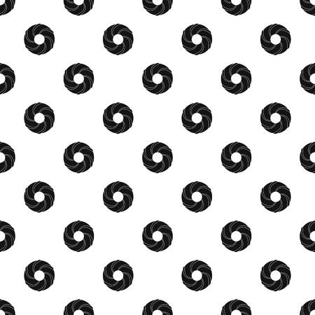 Curl bakery pattern seamless vector repeat geometric for any web design Ilustração