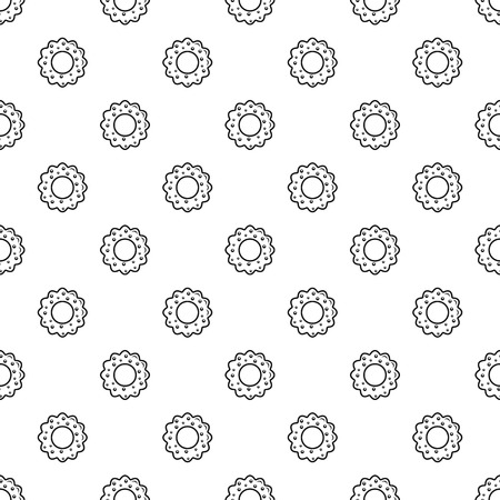Star cake pattern seamless vector repeat geometric for any web design