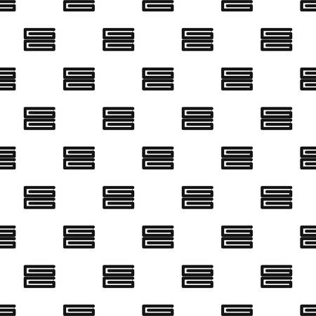 Clothes stack pattern seamless vector Иллюстрация