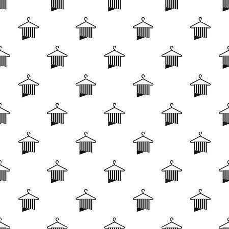 Sauberes Handtuchmuster nahtlose Vektorwiederholung geometrisch für jedes Webdesign Vektorgrafik