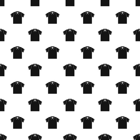 Clean polo shirt pattern seamless vector repeat geometric for any web design