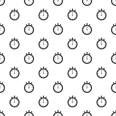 Stopwatch pattern seamless vector repeat geometric for any web design