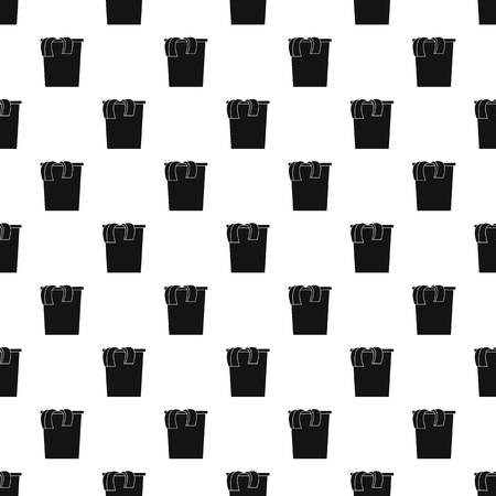 Box dirt clothes pattern seamless vector repeat geometric for any web design