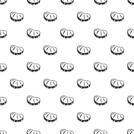 Steak pattern seamless vector repeat geometric for any web design Illustration