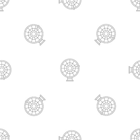 Color lucky wheel pattern seamless vector repeat geometric for any web design