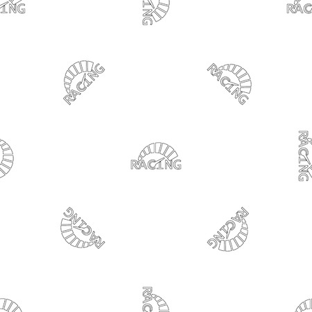 Speedometer pattern seamless vector repeat geometric for any web design
