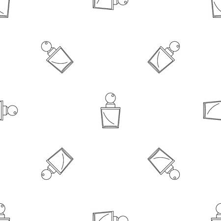 Fashion perfume pattern seamless vector repeat geometric for any web design Imagens - 124743294