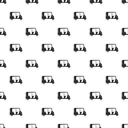 Indian rickshaw pattern seamless vector repeat geometric for any web design