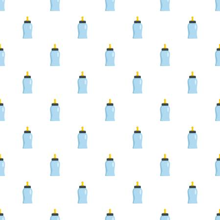 Bottle nipple pattern seamless vector