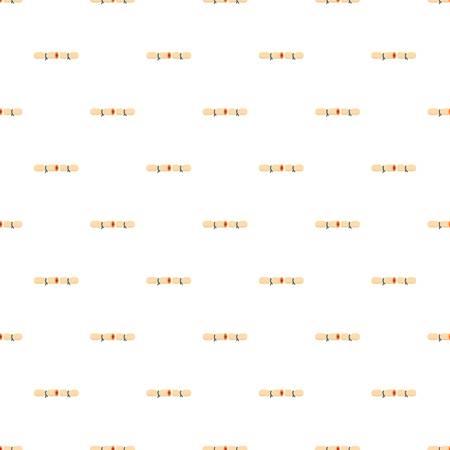 Strip contraceptive pattern seamless vector