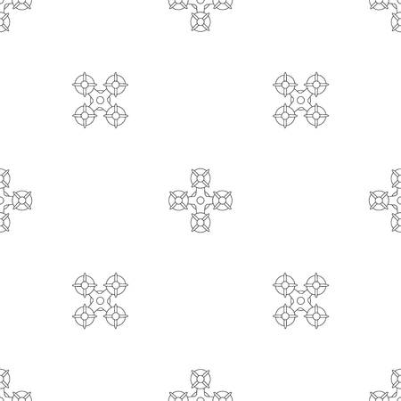Military drone pattern seamless vector repeat geometric for any web design Illustration