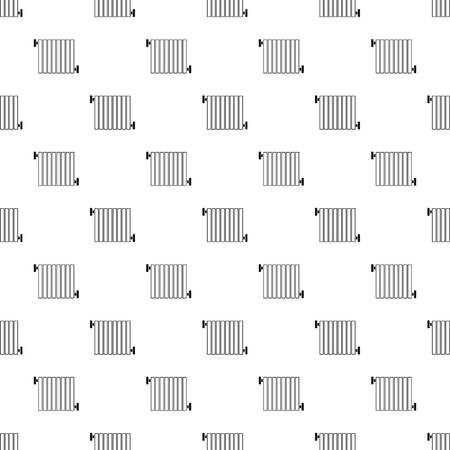 Radiator pattern seamless vector repeat geometric for any web design