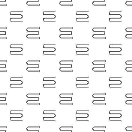 Towel bath radiator pattern seamless vector repeat geometric for any web design