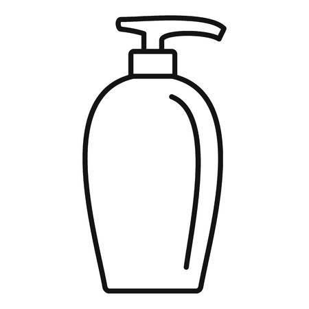 Soap dispenser icon, outline style