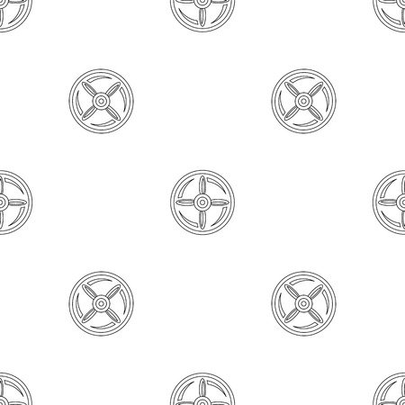 Drone propeller pattern seamless vector illustration