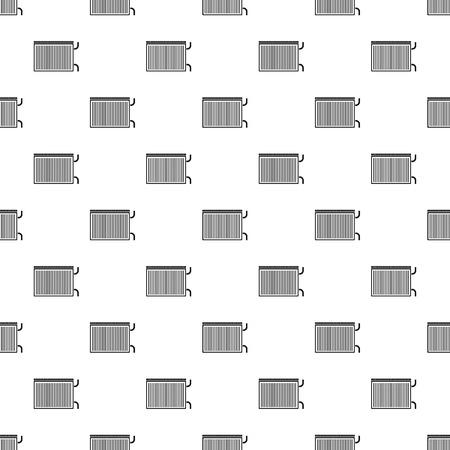 Modern radiator pattern seamless vector repeat geometric for any web design