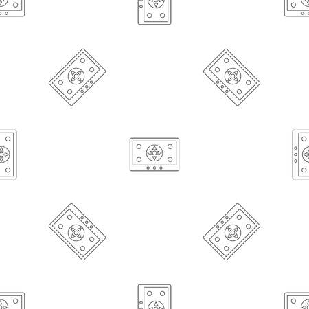 Tablet drone control pattern seamless vector repeat geometric for any web design