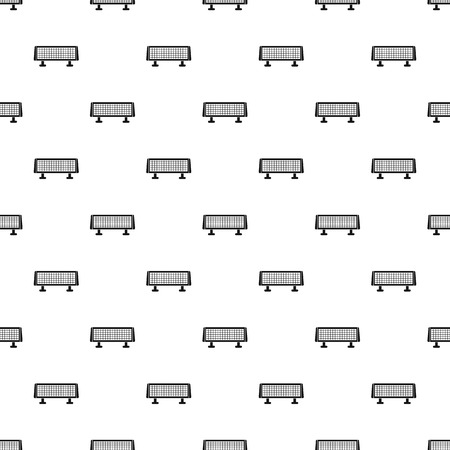 Heater stand pattern seamless vector repeat geometric for any web design Illustration