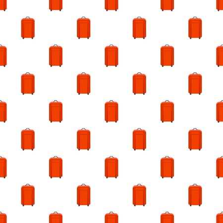 Travel bag pattern seamless vector repeat for any web design