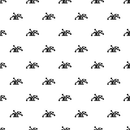 Clown hat pattern seamless vector repeat geometric for any web design