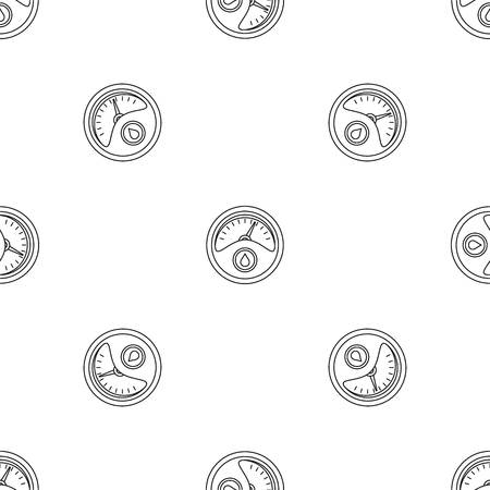 Petrol dashboard pattern seamless vector repeat geometric for any web design