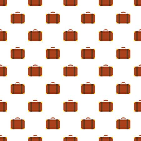 Luggage bag pattern seamless vector repeat for any web design Imagens - 124588993