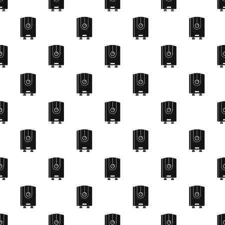 Water boiler pattern seamless vector repeat geometric for any web design