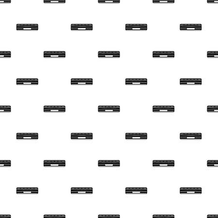 Air conditioner pattern seamless vector repeat geometric for any web design