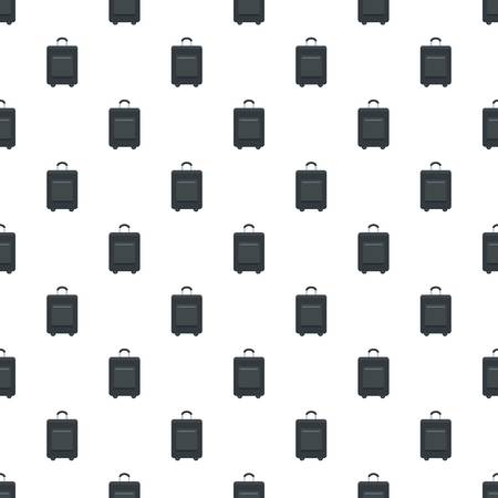 Trip bag pattern seamless vector repeat for any web design Imagens - 124589006