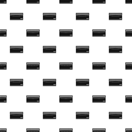 Convector pattern seamless vector repeat geometric for any web design Imagens - 124589009