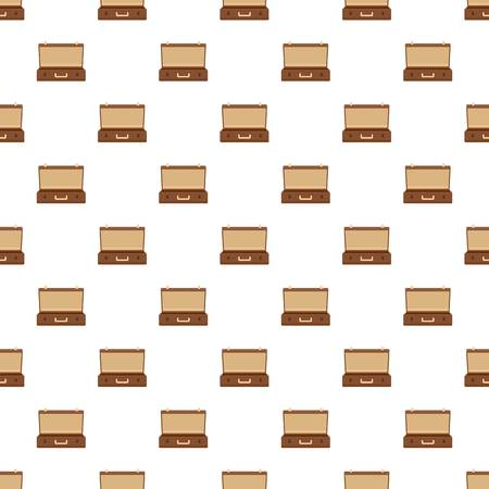 Travel case pattern seamless vector repeat for any web design Illustration