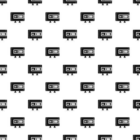 Modern boiler pattern seamless vector repeat geometric for any web design
