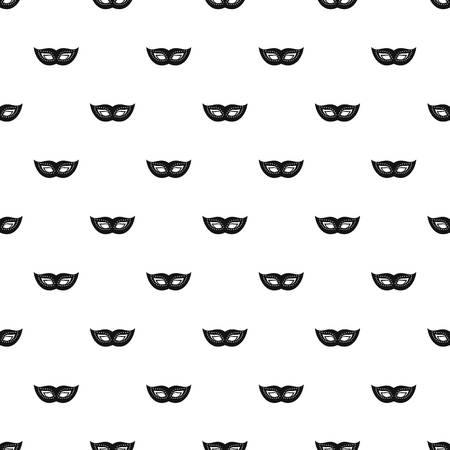 Elegant mask pattern seamless vector repeat geometric for any web design Illustration
