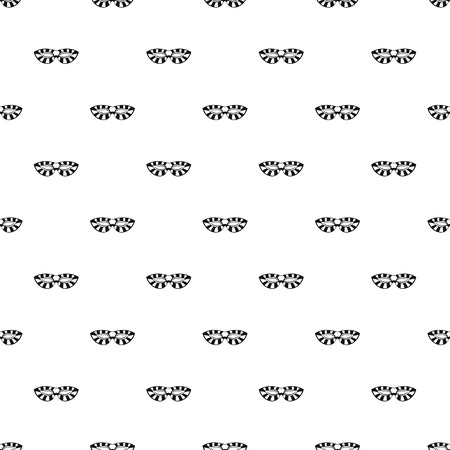 Stripped carnival mask pattern seamless vector repeat geometric for any web design