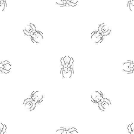 Cross spider pattern seamless vector repeat geometric for any web design