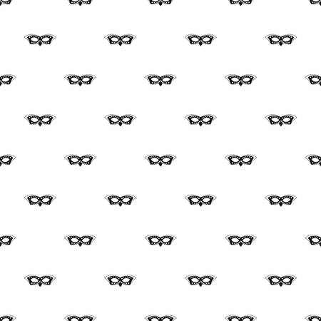 Event mask pattern seamless vector repeat geometric for any web design
