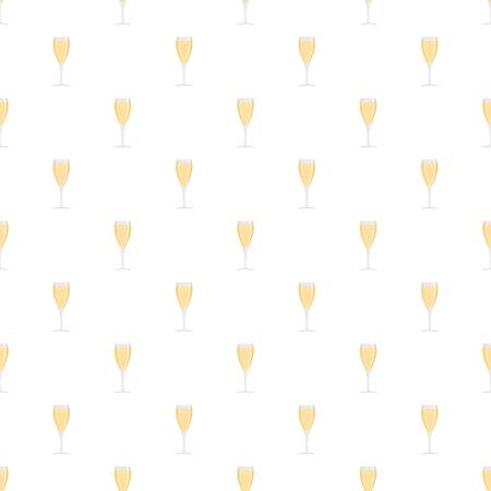 Full glass pattern seamless vector repeat for any web design