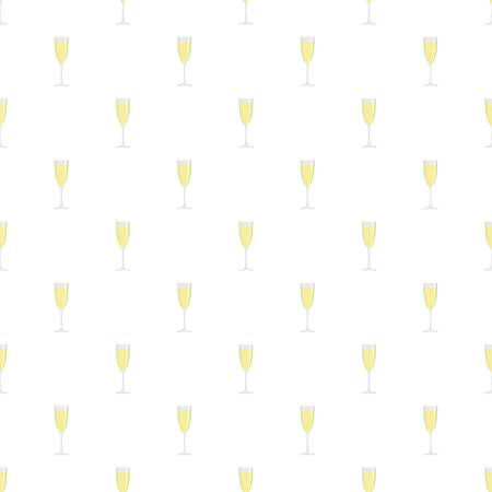 Sparkling champagne pattern seamless vector repeat for any web design Illustration