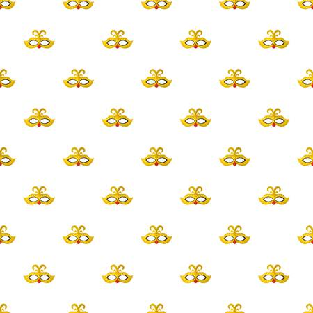 Venice mask pattern seamless, vector illustration