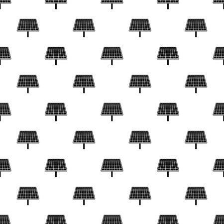 Solar brand panel pattern seamless vector repeat geometric for any web design Ilustração