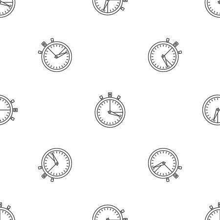 Stopwatch icon. Outline illustration of stopwatch icon for web design isolated on white background Reklamní fotografie