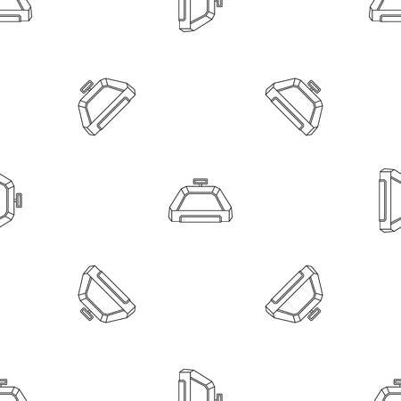 American football field pattern seamless
