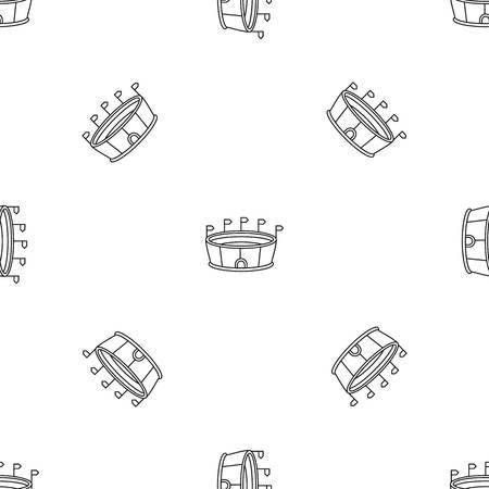 Sport round stadium pattern seamless Stock fotó